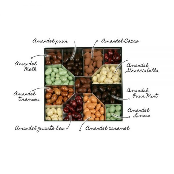 ove in a Box Choco Noten Almond Selection