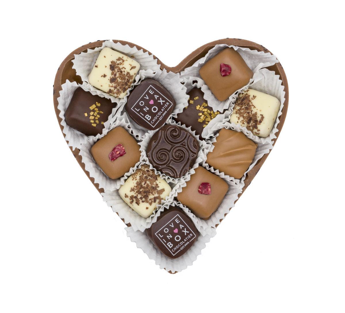 Love in a Box Chocolade