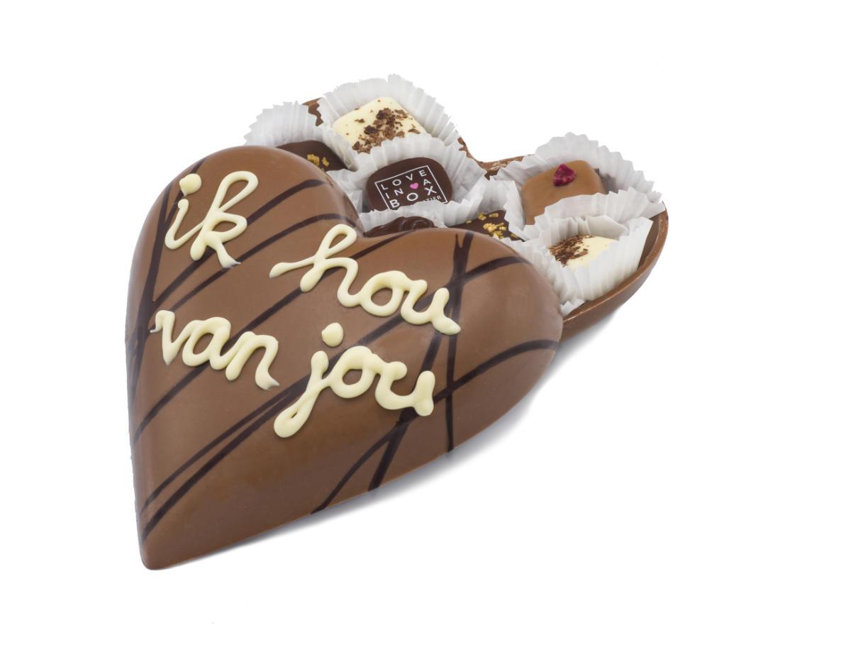 Love in a Box Chocolade Seizoen chocolade